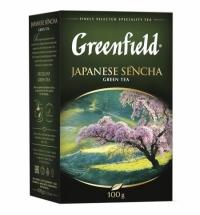 Чай Greenfield Japanese Sencha (Джапаниз Сенча) зеленый, листовой, 100 г