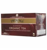 Чай Twinings Organic черный, 25 пакетиков