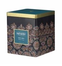 Чай Newby Classic Caddy Collection Earl Gray (Эрл Грей) черный, листовой, 125 г, ж/б