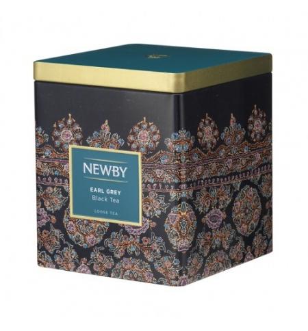 фото: Чай Newby Classic Caddy Collection Earl Gray (Эрл Грей) черный, листовой, 125 г, ж/б