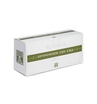 Чай Althaus Gunpowder Zhu Cha зеленый, 20 пакетиков для чайников
