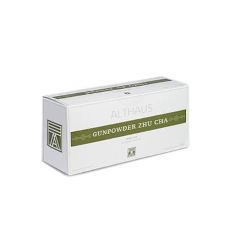 фото: Чай Althaus Gunpowder Zhu Cha зеленый, 20 пакетиков для чайников