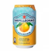 Напиток газированный Sanpellegrino апельсин 330мл, ж/б