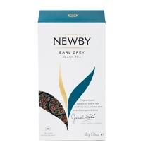 Чай Newby Earl Grey (Эрл Грей) черный, 25 пакетиков