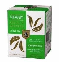 Чай Newby Darjeeling (Дарджилинг) черный, листовой, 100 г