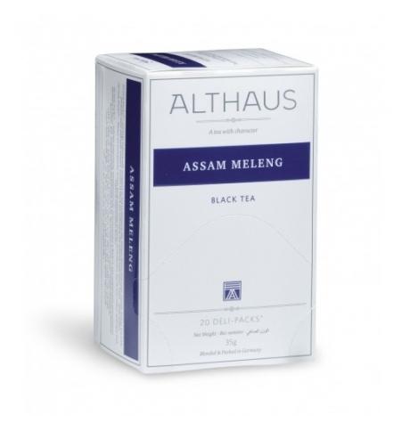 фото: Чай Althaus Assam Meleng черный, 20 пакетиков