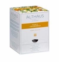 Чай Althaus Fancy Chamomile травяной, листовой, в пирамидках, 15 пакетиков