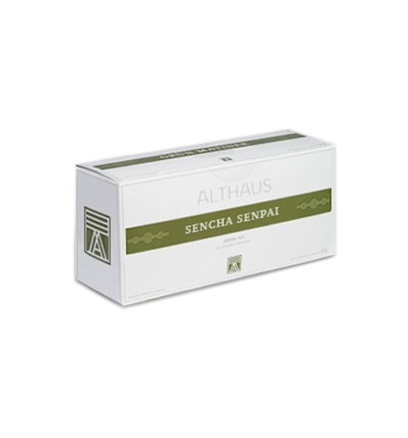 фото: Чай Althaus Sencha Senpai зеленый, 20 пакетиков для чайников