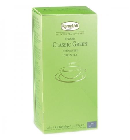 фото: Чай Ronnefeldt Teavelope Classic Green зеленый, 25 пакетиков