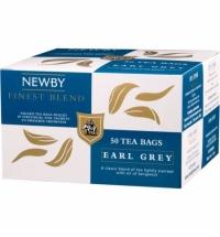 Чай Newby Earl Grey (Эрл Грей) черный, 50 пакетиков
