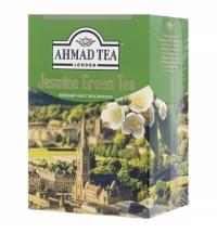 Чай Ahmad Jasmine Green Tea (Зеленый Чай с Жасмином) зеленый, листовой, 200г