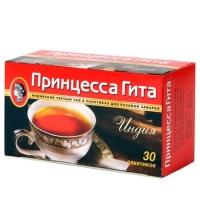 Чай Принцесса Гита Индия черный, 30 пакетиков без ярлычка