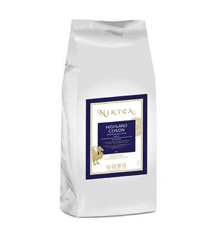 фото: Чай Niktea Highland Сeylon (Цейлон Высокогорный) черный, листовой, 250г