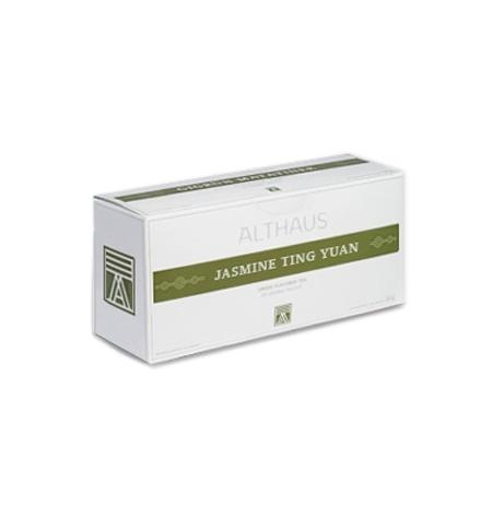 фото: Чай Althaus Jasmine Ting Yuan зеленый, 20 пакетиков для чайников