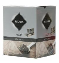 Чай Rioba Ассам 17 черный, в пирамидках, 20 пакетиков