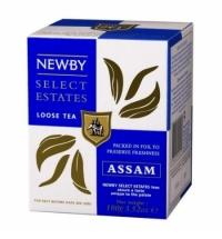 Чай Newby Assam (Ассам) черный, листовой, 100 г