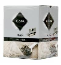 Чай Rioba Эрл Грей черный, в пирамидках, 20 пакетиков