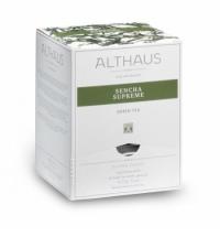 Чай Althaus Sencha Supreme зеленый, листовой, в пирамидках, 15 пакетиков
