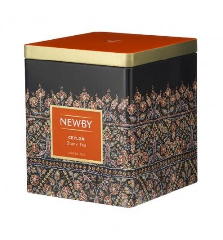фото: Чай Newby Classic Caddy Collection Ceylon (Цейлон) черный, листовой, 125 г, ж/б