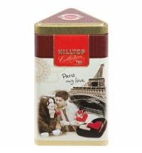 Чай Hilltop Парижские каникулы с чабрецом черный, листовой, 80г, ж/б