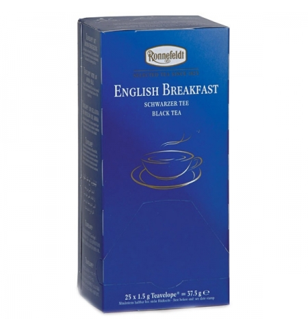фото: Чай Ronnefeldt Teavelope English Breakfast черный, 25 пакетиков