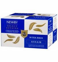 Чай Newby Assam (Ассам) черный, 50 пакетиков