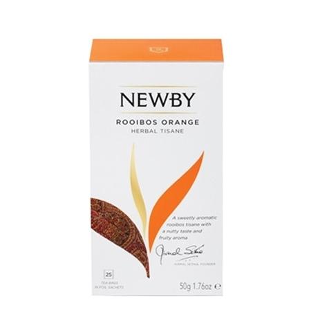 фото: Чай Newby Rooibos Orange (Ройбош оранж) ройбуш, 25 пакетиков