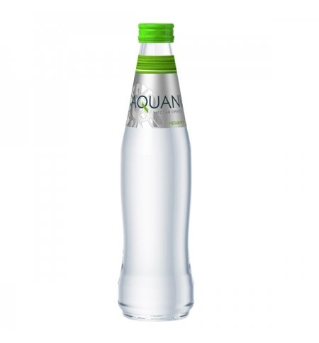 фото: Вода Акваника, стекло, 350мл, без газа