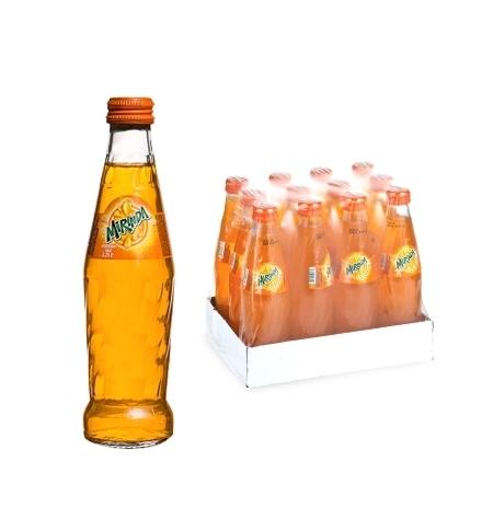 фото: Напиток газированный Mirinda Orange 250мл х 12шт стекло