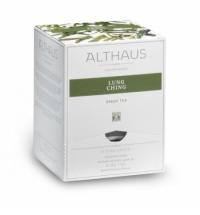 Чай Althaus Lung Ching ройбуш, листовой, в пирамидках, 15 пакетиков
