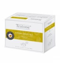 Чай Teatone Sencha Green Tea зеленый, 20 пакетиков на чайник