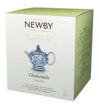 Чай Newby Chamomile (Камомайл) травяной, в пирамидках, 15 пакетиков
