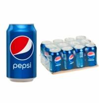 Напиток газированный Pepsi 330мл x 12шт ж/б