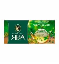 Чай Принцесса Ява Чабрец и мята зеленый, 25 пакетиков