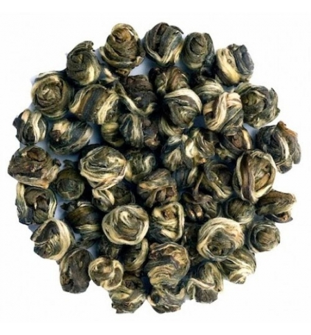 фото: Чай Newby Jasmine Pearls (Жасмин перлс) зеленый, листовой, 250 г