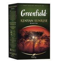Чай Greenfield Kenyan Sunrise (Кениан Санрайз) черный, листовой, 100 г