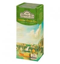 Чай Ahmad Jasmine Green Tea (Зеленый Чай с Жасмином) зеленый, 25 пакетиков