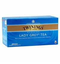 Чай Twinings Lady Grey черный, 25 пакетиков