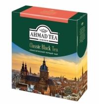 Чай Ahmad классический черный 100 пакетиков