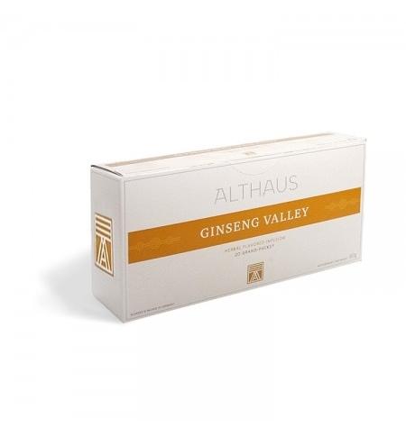 фото: Чай Althaus Ginseng Valley травяной, 20 пакетиков для чайников