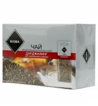 Чай Rioba Дарджилинг черный, листовой, 20 пакетиков на чайник