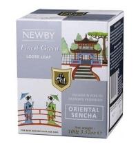 Чай Newby Oriental Sencha (Ориентал Сенча) зеленый, листовой, 100 г