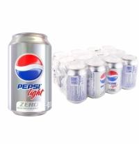 Напиток газированный Pepsi Light 330мл x 12шт ж/б