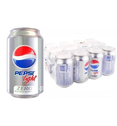 фото: Напиток газированный Pepsi Light 330мл x 12шт ж/б