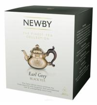 Чай Newby Earl Grey (Эрл Грей) черный, в пирамидках, 15 пакетиков