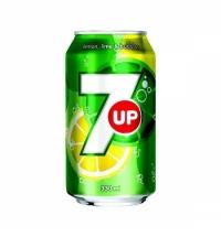 Напиток газированный 7 Up 330мл ж/б