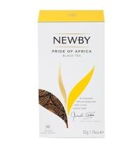 Чай Newby African Pride (Африкан прайд) черный, 25 пакетиков