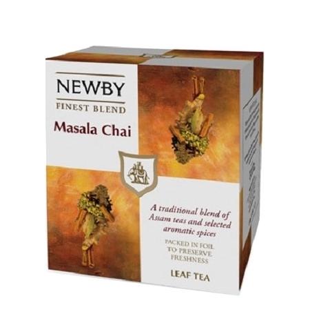 фото: Чай Newby Masala (Масала) черный, листовой, 100 г
