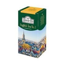 Чай Ahmad English Tea №1 (Английский Чай №1) черный, 25 пакетиков