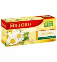 Чай Milford Camomile 20 пакетиков, травяной